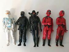 Vintage action force figures set of 5