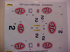 1989 STP Lola Indy Car Decal Set