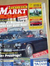 OLDTIMER MARKT 5-03+MERCEDES 190 SL+LANCIA FLAMINIA CABRIO+HONDA CRX+BMW R 80 GS