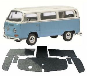 VW BAY WINDOW RHD FRONT CABIN CARPET KIT SET 8PCS KOMBI BUS 1968-1972