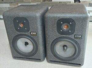 KRK 6000 Speakers, Matched Pair FREE SHIPPING, EXCELLENT!