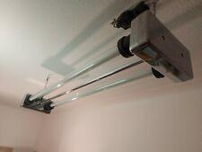 Neonlampe LED Industrie Lampe Design Alu poliert Bauhaus Fabrik DDR Narva Loft