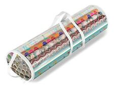 Gift Wrapping Paper Organizer Clear Storage. Tissue Ribbon Lightweight New