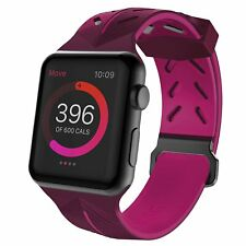 X-Doria Action Band for Series 1, 2, 3 & Nike+ Apple Watch 42mm - Purple/Pink