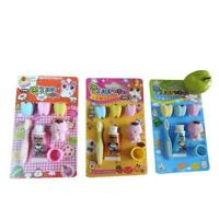 Novelty Toothpaste Toothbrush Shape Rubber Eraser School Office Supply Supp J6W2