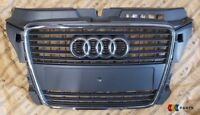 NEW GENUINE AUDI A3 09-13 GREY FRONT CENTER BUMPER GRILL 8P0853651M 1QP