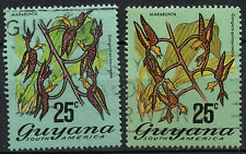Used Postage Guyanese Stamps