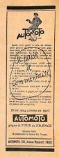 71 MACON AUTO MOTO VELO TOUR DE FRANCE PUBLICITE 1925