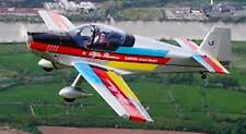 CR-100 DynAero France Aerobatic Airplane Handcrafted Wood Model Large New