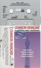 Chanson Francaise cassette K7 tape PROMO claude françois cabrel pietri chamfort