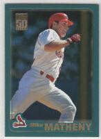 2001 Topps Baseball Saint Louis Cardinals Team Set (36 cards)