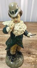 Borghese Chalk Figurine Antique Man Boy Missing Hand Pat O'Leary Chalkware Irish
