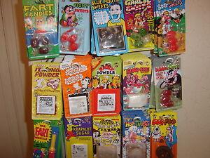 Joke Tricks/Pranks.Over 30 to choose from.Sweets,Drinks,Cigarette bang tricks.