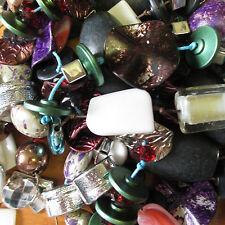 500 Grams of Mixed LOF of Broken Costume Jewellery Beads Earring Hooks Clasps