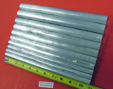 "10 Piece 1/2"" to 1"" ALUMINUM ROUND ROD ASSORTMENT 6061 T6511 Bar Stock #4.7"