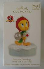 Hallmark 2012 Tweety Bird Season's Tweetings Looney Tunes Christmas Ornament