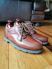 TIMBERLAND Classic Brown Leather Hiking Oxford Low Boot Gore-Tex Waterproof 11.5