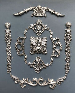 Project Pack Of Decorative Mouldings Antique Silver