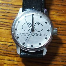 Vintage Chris Newman CWC Bicycle Character Watch
