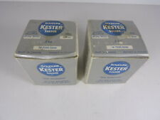 Quantity 2 Nos Kester Sil Strong 4 Silver Solid Wire Solder 4 Ag 96 Sn