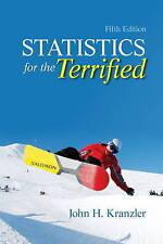 Statistics for the Terrified by John H. Kranzler (Paperback, 2010)