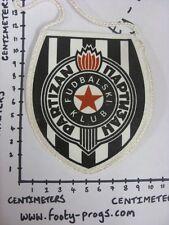 circa 2000's FK Partizan - Small Pennant