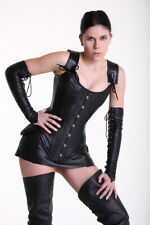 Lamb Leather Corset Corsage Xx