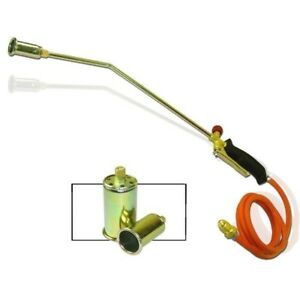 """Propane Torch - 3 Nozzles - Turbo-Blast Trigger with 60"""" Hose"""
