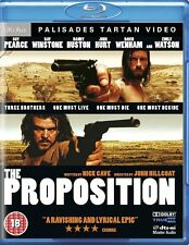 THE PROPOSITION Ray Winstone*Guy Pearce*John Hurt Cult Western Blu-ray *EXC*