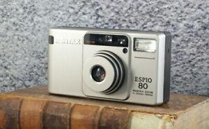 [Exc+5] Pentax ESPIO 80 Point & Shoot 35mm Film Camera From JAPAN