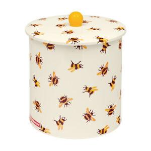 Emma Bridgewater Biscuit Tin Bumblebee Steel Biscuit Barrel Cookie Jar