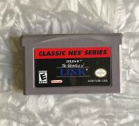 Zelda II NES Classics Link Nintendo Gameboy Cartridge Cleaned & Tested FREE SHIP
