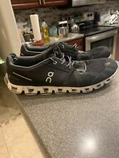 Mens QN ON CLOUD Black RUNNING SNEAKERS Size 13 $129