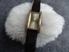 Vintage Mortima 17 Jewels Wind Up Ladies Watch - Runs Fast