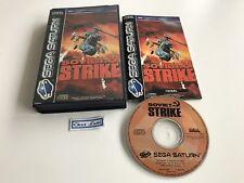 Soviet Strike - Sega Saturn - PAL EUR - Avec Notice