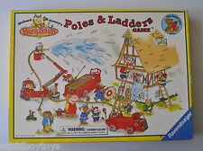 Richard Scarry's BUSYTOWN POLES & LADDERS Board Game Complete 1999