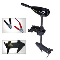 12V 58lbs Electric Inflatable Trolling Motor Fishing Boat Outboard Short Shaft