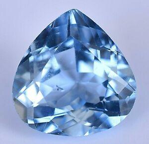 Aquamarine Blue From Brazil 100/% Natural Untreated Pear shape Cut  Stone Amazing Blue Fine Cut Faceted stone