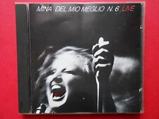 cd mina live del mio meglio n. 6 georgia on my mind we are the champions someday