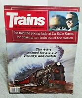 Trains Magazine Of Railroading June 1986 Vintage Guilford