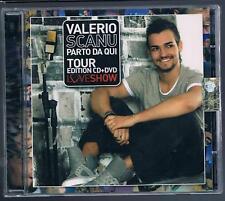 VALERIO SCANU PARTO DA QUI TOUR EDITION CD + DVD  SIGILLATO!!!