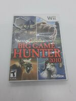 Cabela's Big Game Hunter 2010 W Manual Nintendo Wii Game