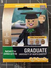 Oyo Sports Minifigure University of North Dakota UND Graduate Alumni Lego Female