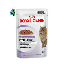 ROYAL CANIN 48 bustine STERILISED 85 gr in Jelly (4,08 kg) alimento UMIDO GATTO