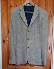 RIVER ISLAND, Grey Single Breasted, Wool, Regular Fit, Mens Large Blazer