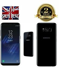 Brand New Samsung Galaxy S8 G950F Midnight Black 64GB UNLOCKED 4G LTE SIM FREE