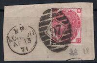Großbritannien 1867 Mi. 28 Gestempelt 100% 3 P, Königin Victoria