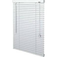 RV White PVC 1 Inch Window Blind
