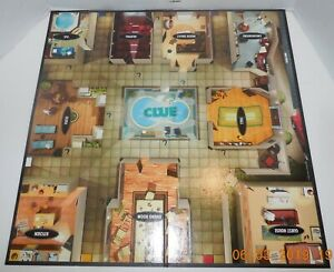 2008 Hasbro Clue Replacement Game Board ONLY