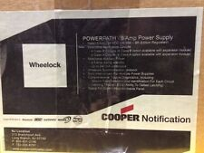COOPER WHEELOCK POWERPATH 8Amp 24VDC FILTERED/REGULATED POWER SUPPLY/CHARGER